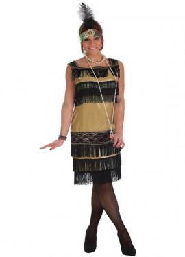 Disfraz de Charlestón Casino para mujer