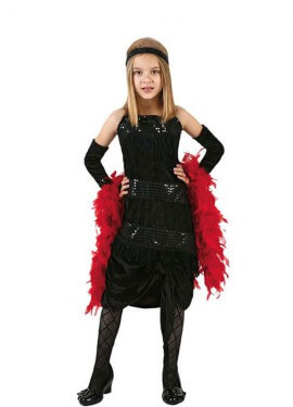 Costume da Charleston per bambine