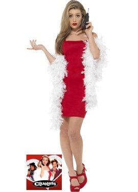 Disfraz de Cher de Fuera de onda Rojo para mujer