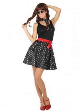 Disfraz de Chica de los Años 50 o 60 para mujer