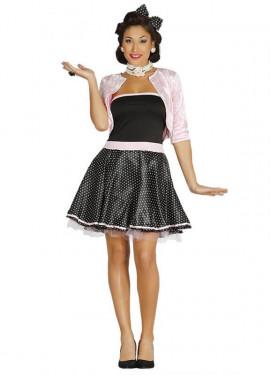 Disfraz de Chica de los Años 50 para mujer