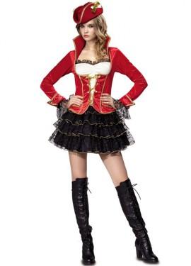 Déguisement de Pirate de Luxe pour femme