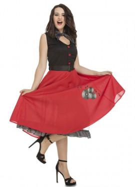 Disfraz de Chica Ye-Ye años 50-60 para mujer