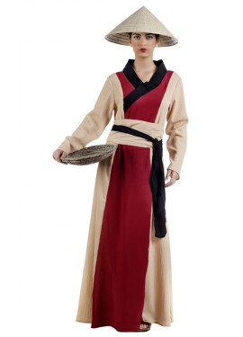 Disfraz de China Guan_Yin para mujer