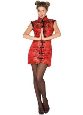 Déguisement de Chinoise ou Geisha Sexy pour femmes plusieurs tailles