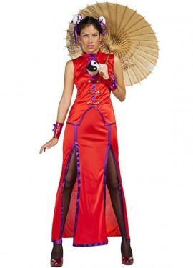Disfraz de China Shanghai para mujer