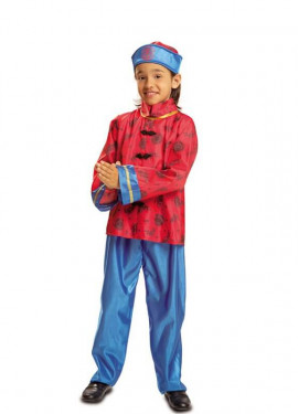 disfraz de chino para nio
