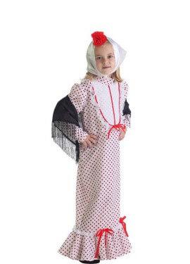 Disfraz de Chulapa coral madrileña para niña