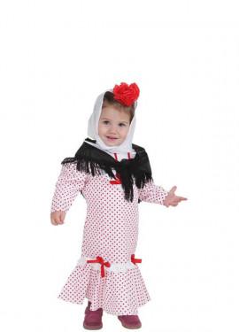 Disfraz de Chulapa o madrileña para bebé