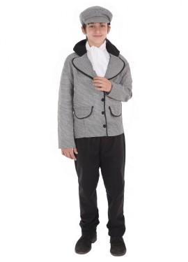 Disfraz de Chulapo madrileño con chaqueta para niño