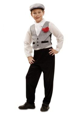 Disfraz de chulapo o madrileño para bebés de 1 a 2 años