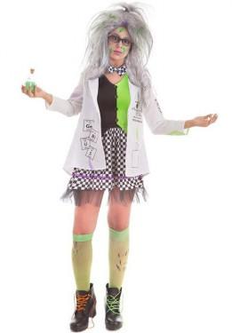 Disfraz de Científica Loca para mujer