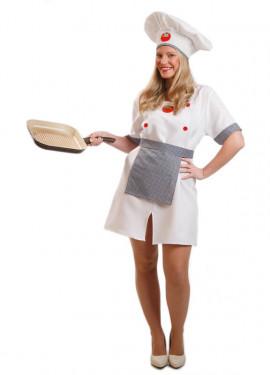 Déguisement de Cuisinière ou Chef pour femme