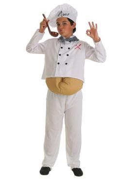 Disfraz de Cocinero barrigón para niño