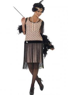 Disfraz de Coco Chanel Flapper para Mujer