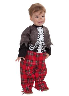 Disfraz de Colegial Zombie para bebé