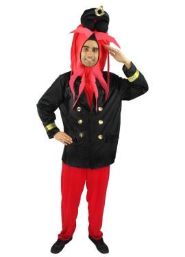 Disfraz de Comandante Bogavante CON pantalones para adulto