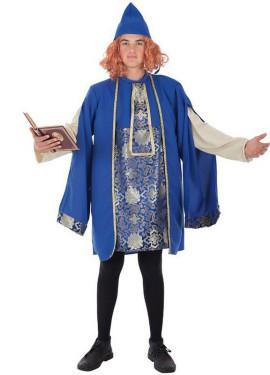 Disfraz de Conde Castilgrande medieval para hombre