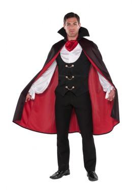 Disfraz de Conde Vampiro para hombres para Halloween