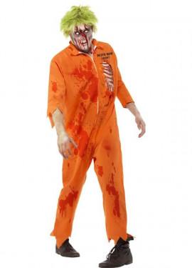 Disfraz de Condenado a Muerte Zombie para Hombre