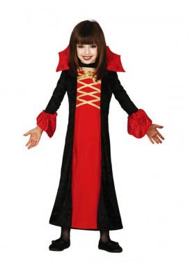 Disfraz de Condesa Vampiresa para niña