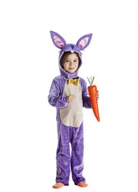 disfraz de conejita lila para nia