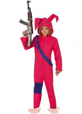 Disfraz de Conejito Soldado para niños y adolescentes