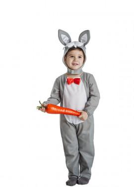 disfraz de conejo gris para nio