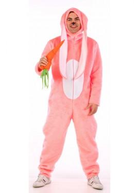 Disfraz de conejo orejón para hombre