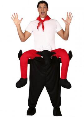 Disfraz de Corredor Montando Toro para adultos