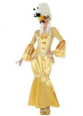 Disfraz de Cortesana de Época para mujer