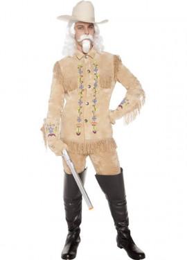 Disfraz de Cowboy Buffalo Bill para hombre talla M