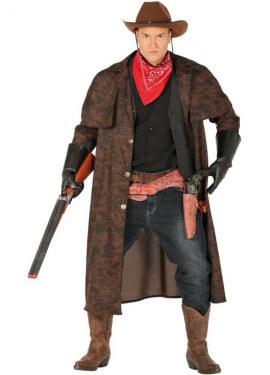 Disfraz de Cowboy Marrón para hombre