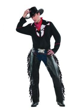 Déguisement de Cowboy Western pour hommes Taille standard M-L