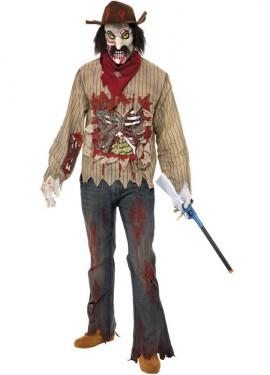 Disfraz de Cowboy o Vaquero Zombie para Hombre