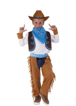 Costume da cowboy per un ragazzo