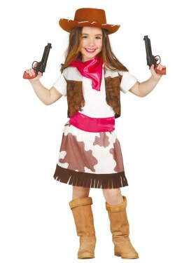 Disfraz de Cowgirl para niña