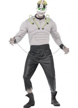 Disfraz de Criatura de Laboratorio para Hombre