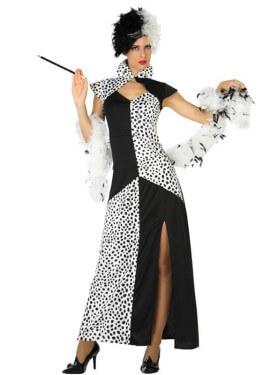 Disfraz de Cruella para mujer
