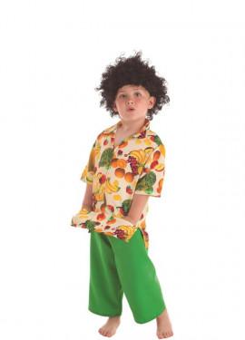 Disfraz de Cubano con Frutas para niño