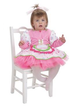 Disfraz de Pastelera Cupcake para bebé