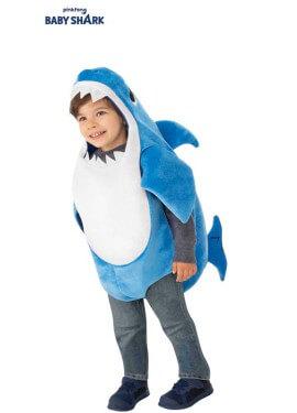 Disfraz de Daddy Shark para niños y bebé