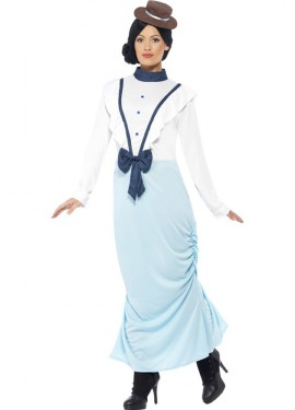 Disfraz de Dama Época Victoriana con Lazo para mujer