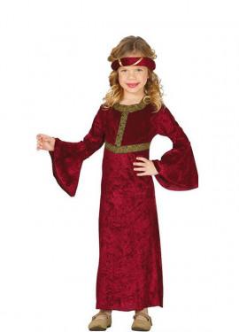 Déguisement Princesse Médiévale pour enfants plusieurs tailles