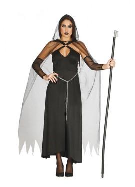 Disfraz de Dama Muerte para mujer
