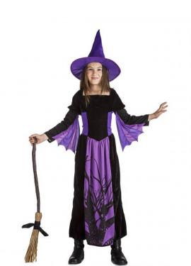 Disfraz de de Bruja del Bosque para niña
