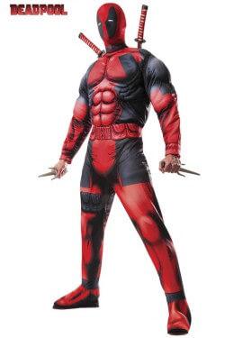 Disfraz de Deadpool Deluxe para hombre