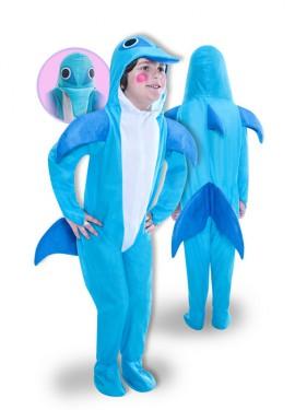 Disfraz de Delfín para niños