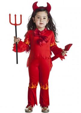Disfraz de Demonia para niña