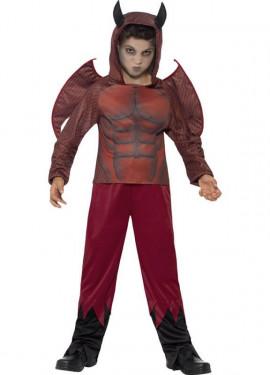 Disfraz de demonio alado